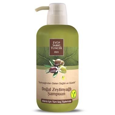 Eyüp sabri tuncer Eyüp Sabri Tuncer Şampuan Doğal Zeytin Yağlı Tüm Saçlar İçin 600 Ml Renksiz